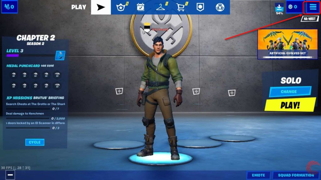 How to logout of Fortnite on Mobile (Android and iOS)?