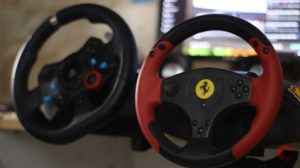 Logitech G29 vs Thrustmaster Ferrari Red Legend Edition