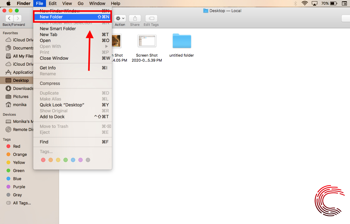 How to create a folder on Macbook? | Candid.Technology