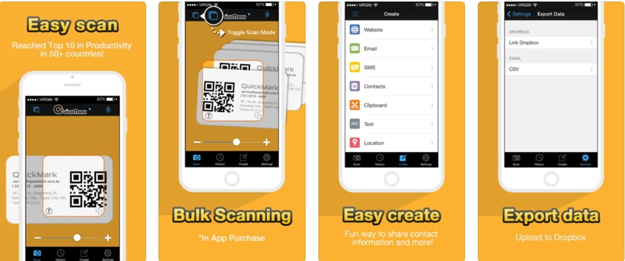 Top 7 QR Code scanner apps for iPhone | Candid.Technology