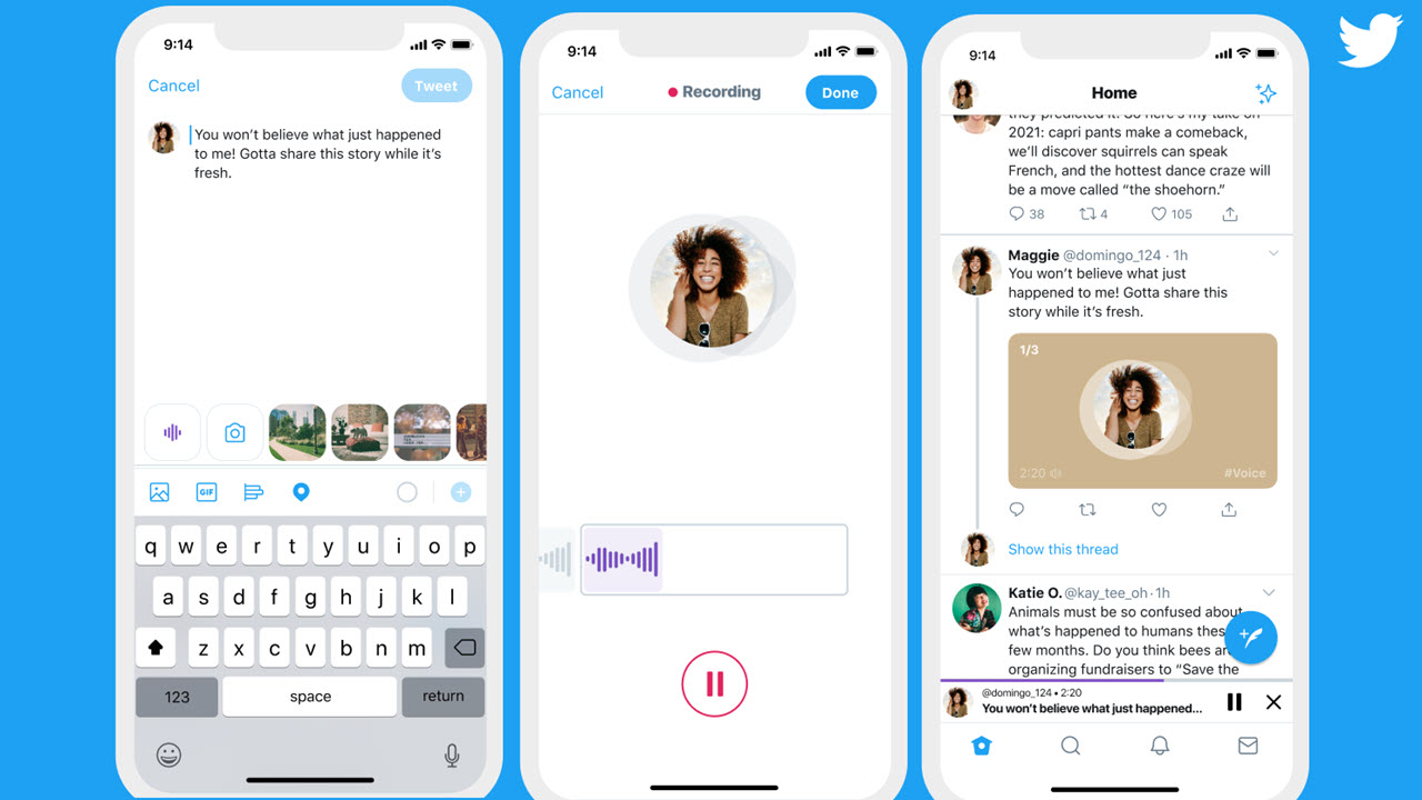 Audio tweets are coming to Twitter users on iOS soon