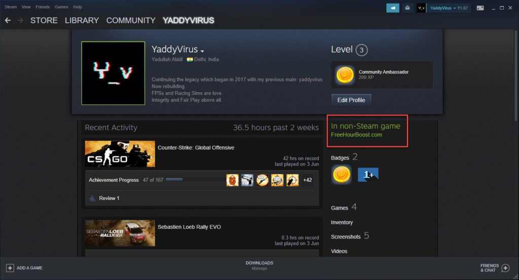 How to boost in-game hours on Steam? | Candid.Technology