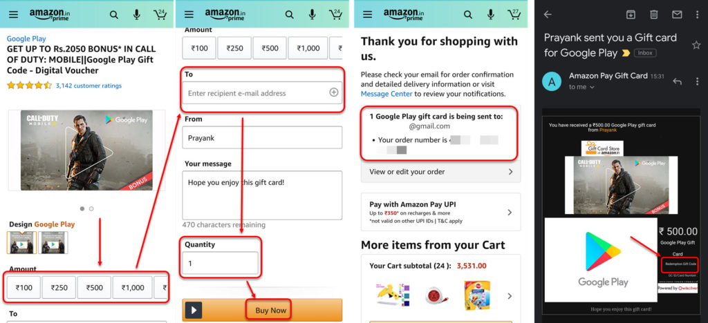 How to redeem a code in Google Play Store? Gift card buying guide