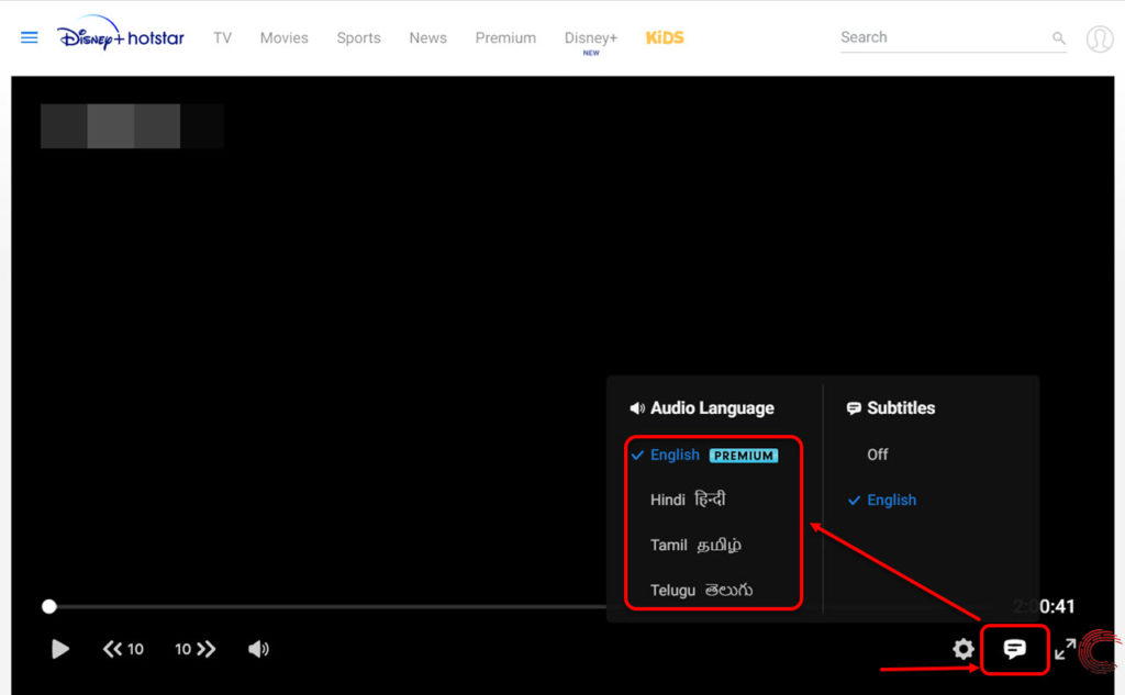 How to change the language in Hotstar? | Candid.Technology