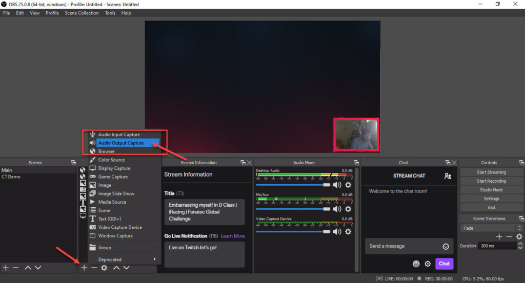 How to record Discord Audio with OBS? How to mute Discord Audio?