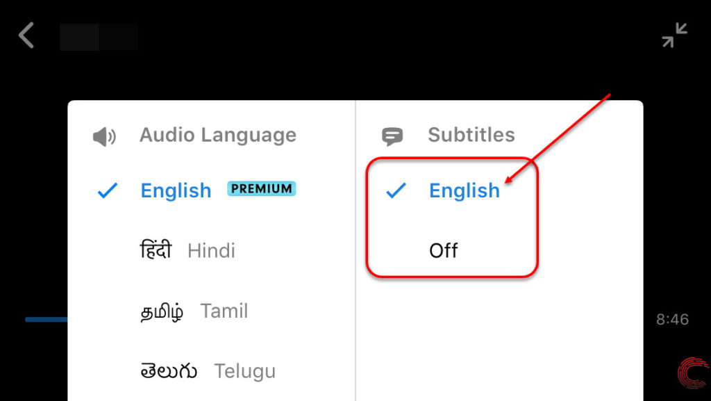 How to enable subtitles in Hotstar? | Candid.Technology