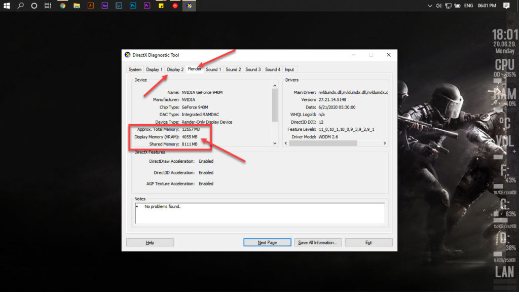 How to check VRAM in Windows 10? | Candid.Technology