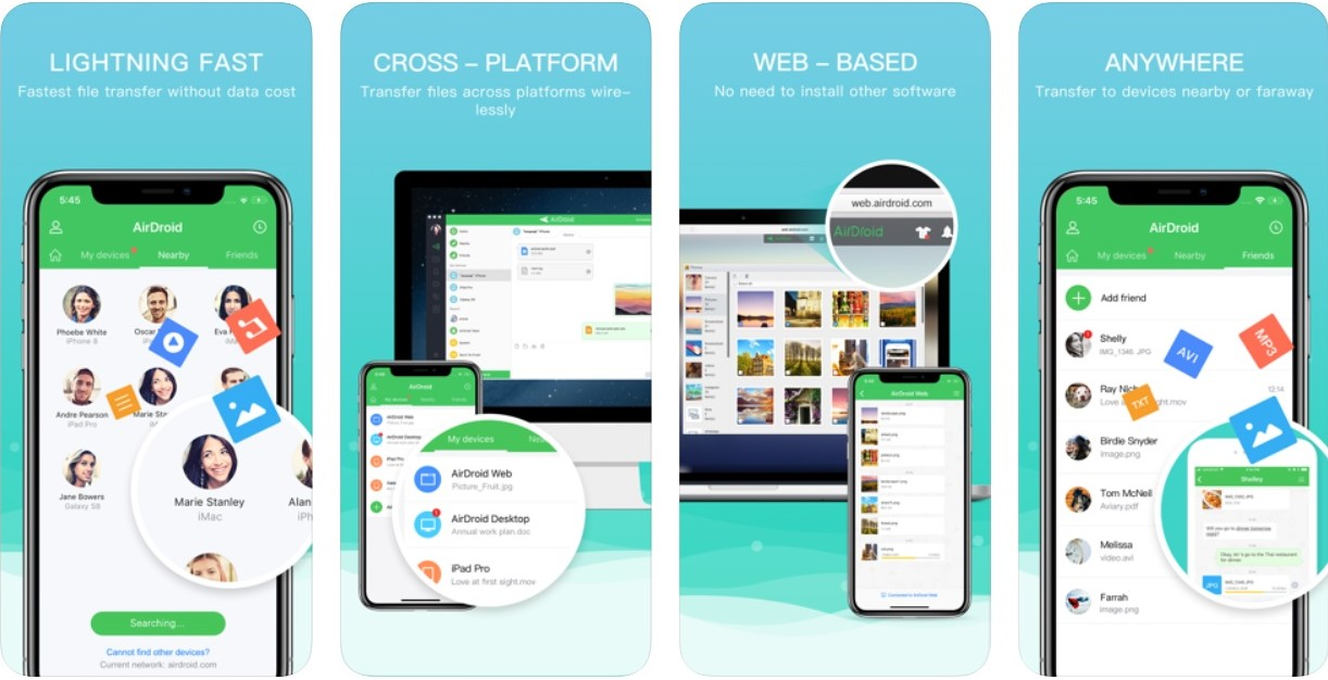 Top 7 ShareIt alternatives for iOS   Candid.Technology