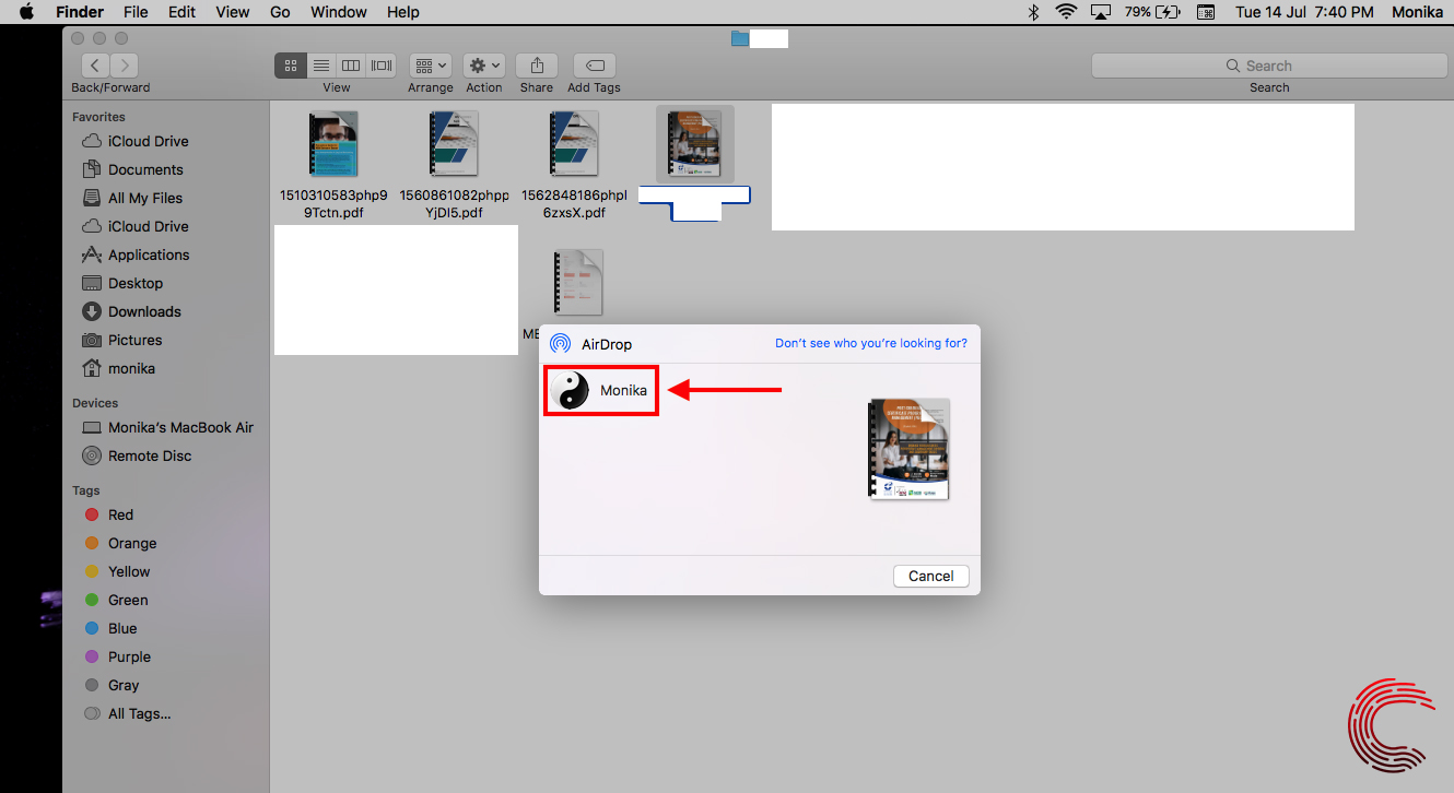 How to AirDrop from Mac to iPhone? | Candid.Technology