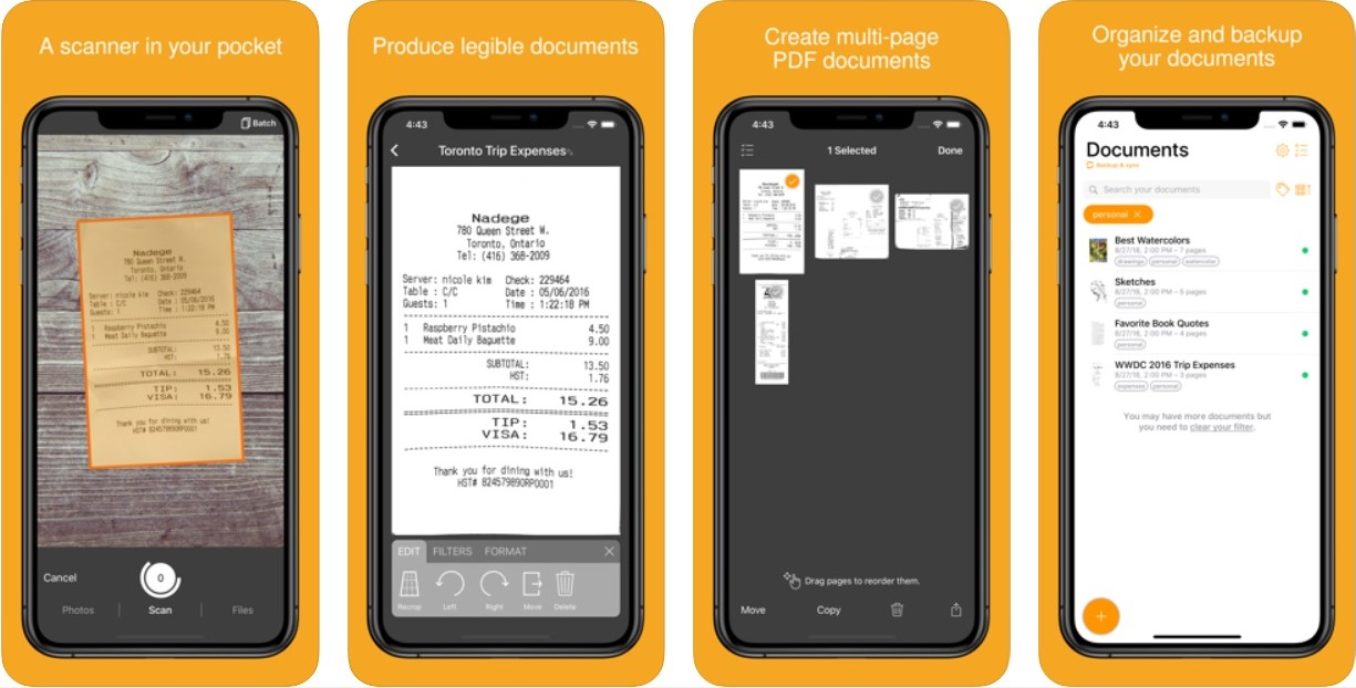 Top 7 CamScanner alternatives for iOS | Candid.Technology