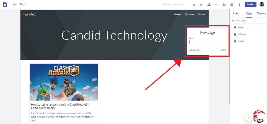How to create a Google site? | Candid.Technology