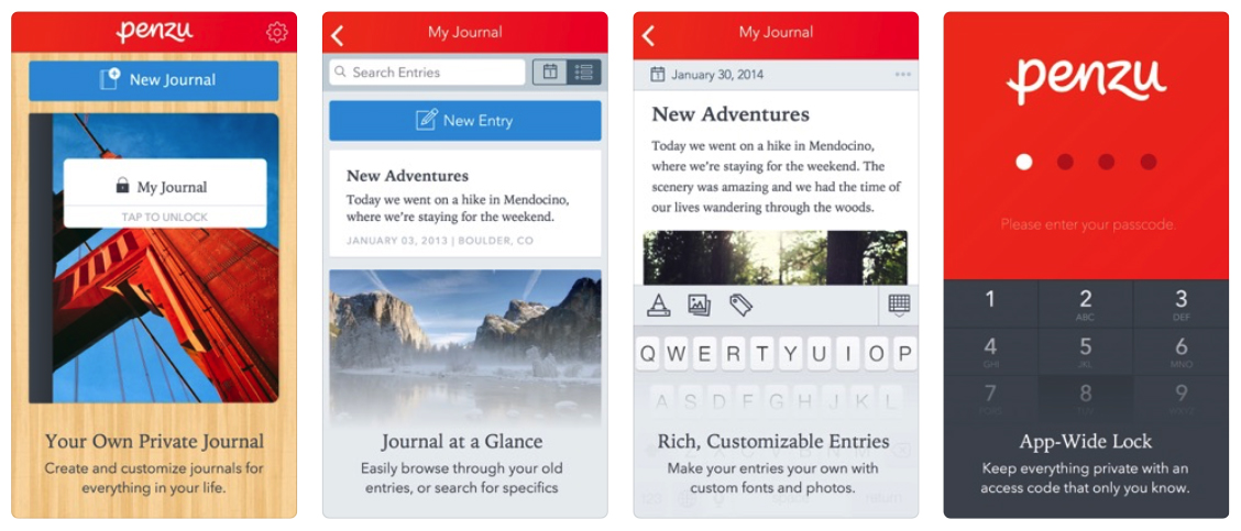 Top 7 journal diary apps for iOS and Android