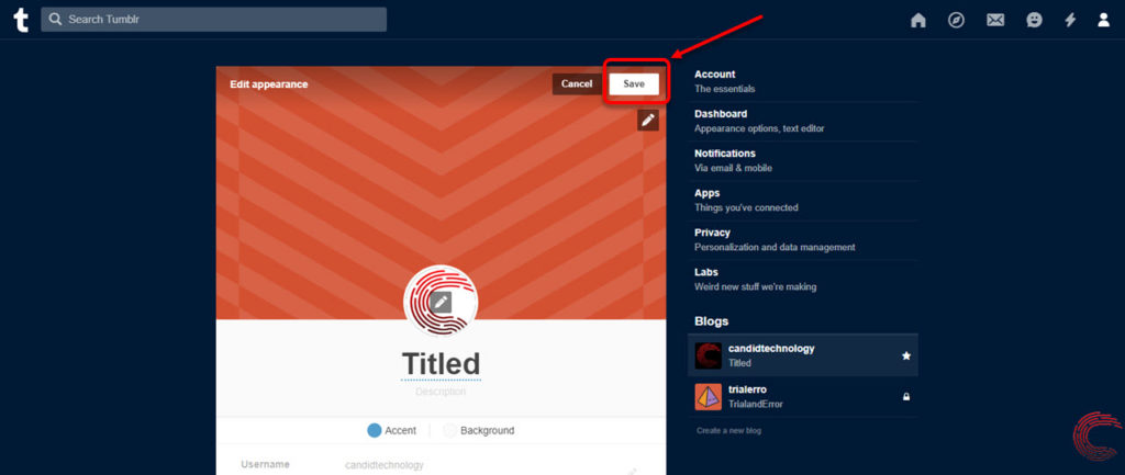 How to change your Tumblr avatar? | Candid.Technology