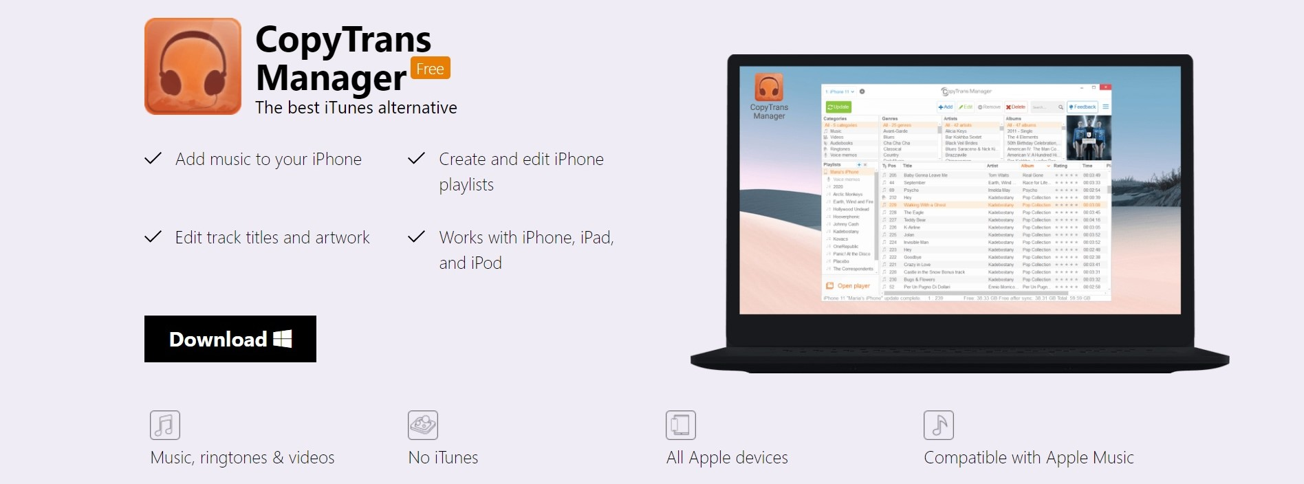 Top 7 iTunes alternatives for PC | Candid.Technology