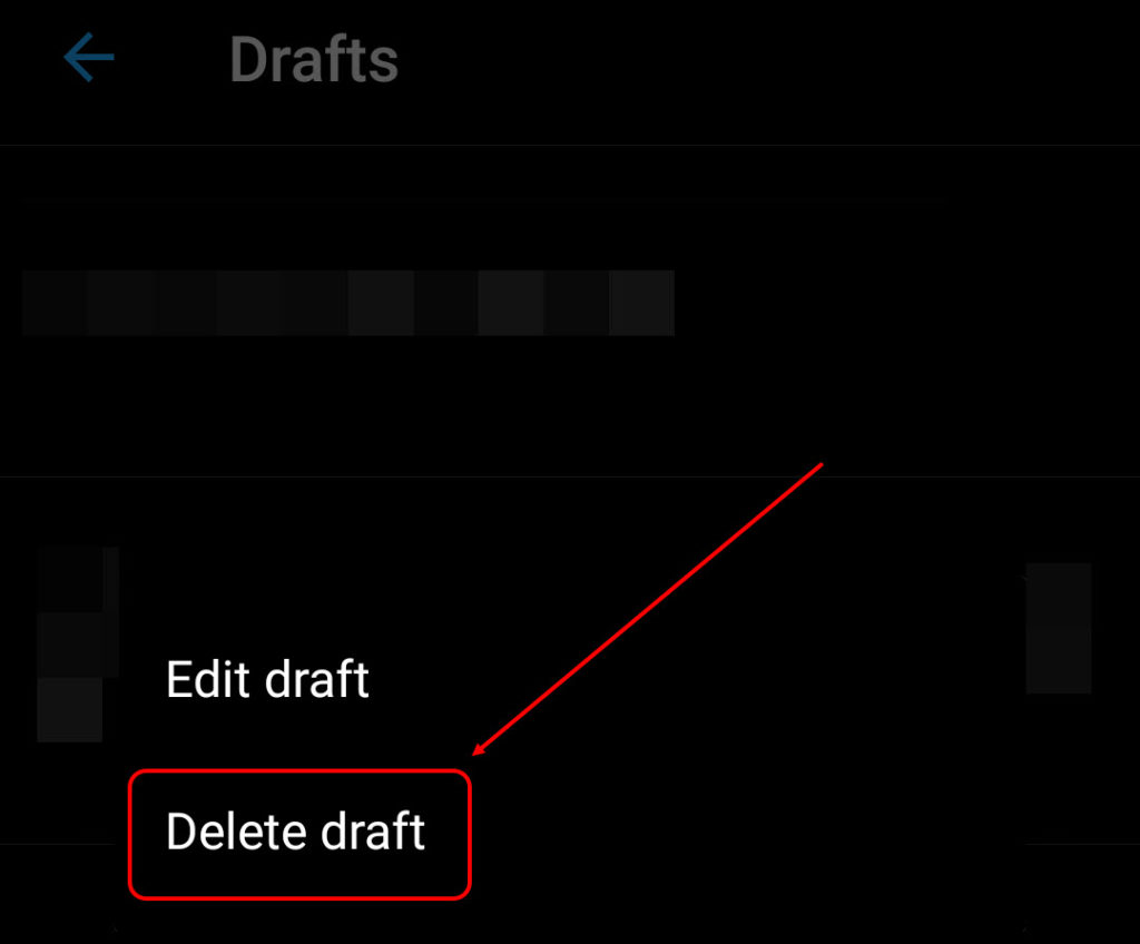 How to find drafts on Twitter?   Candid.Technology