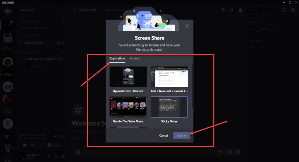 How to screen share on Discord? | Candid.Technology