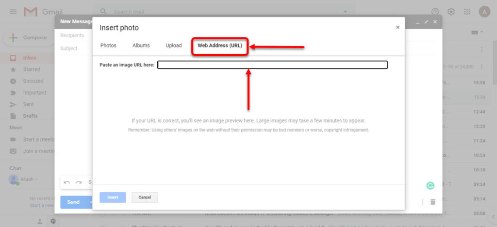 How to insert a GIF in Gmail? | Candid.Technology