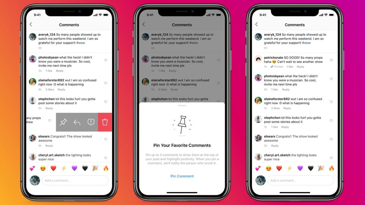 Instagram rolls out 'pinned comment' feature worldwide
