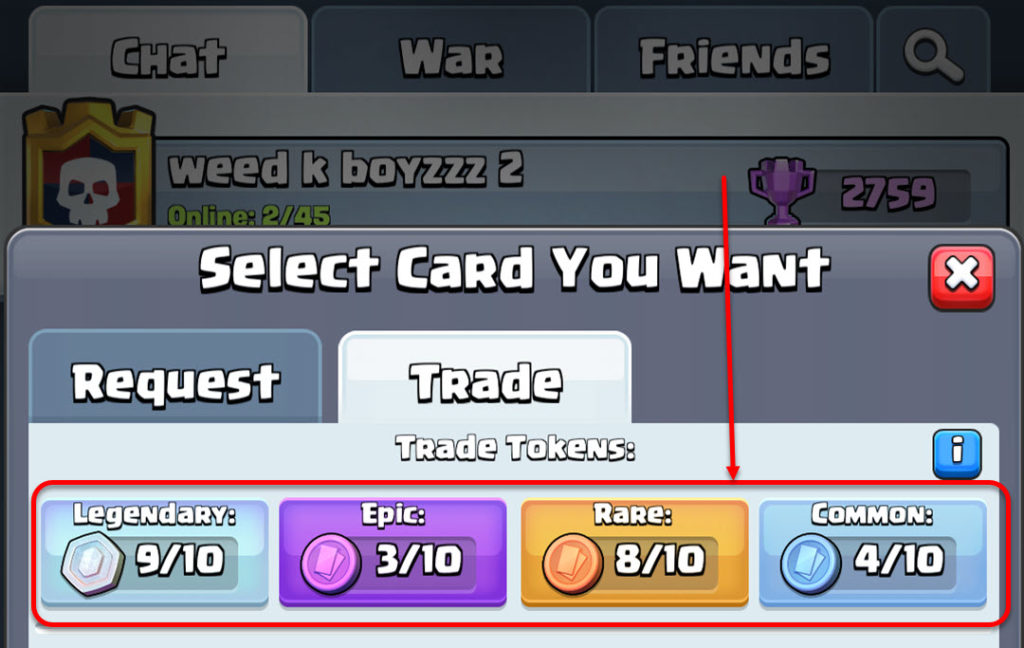 How to get trade tokens in Clash Royale? | Candid.Technology