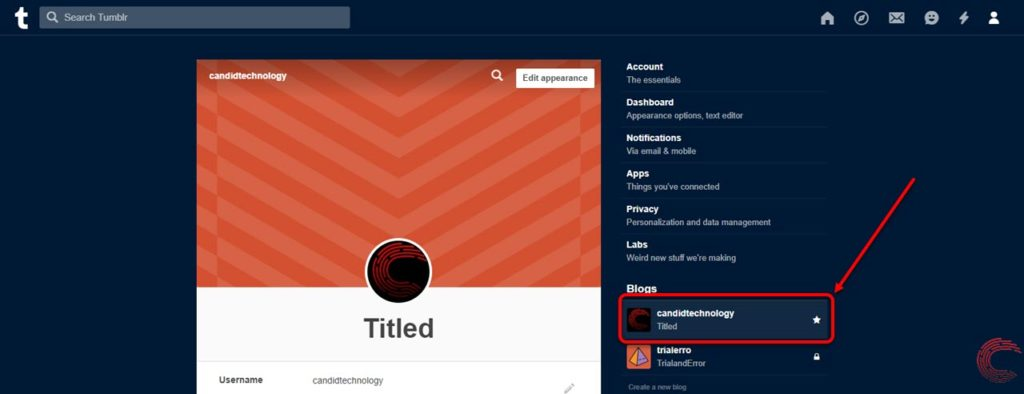 How to block or unblock someone on Tumblr?