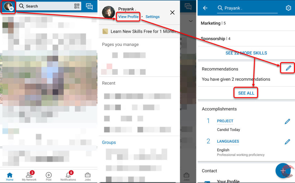 How to write a recommendation on LinkedIn? | Candid.Technology