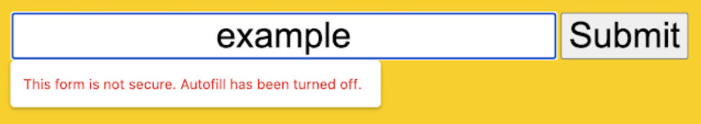 Chrome will soon restrict autofill on unsecure 'mixed forms'