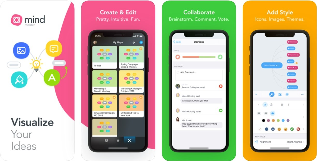 Top 7 Mind Mapping apps for iOS | Candid.Technology