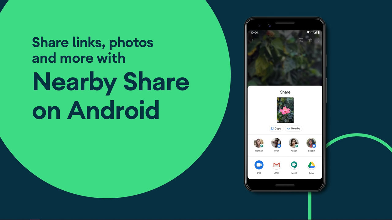 Android gets its own Airdrop as Nearby Share rolls out