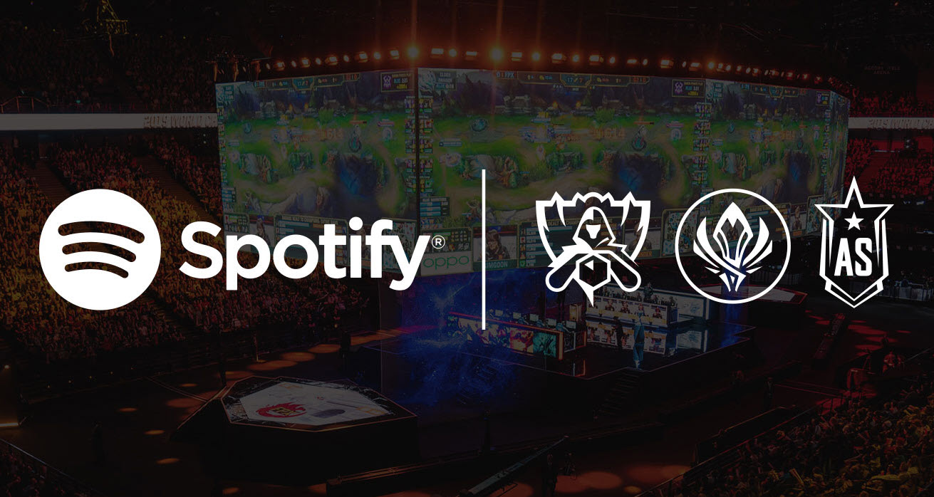 Spotify becomes the official audio streaming partner for League of Legends