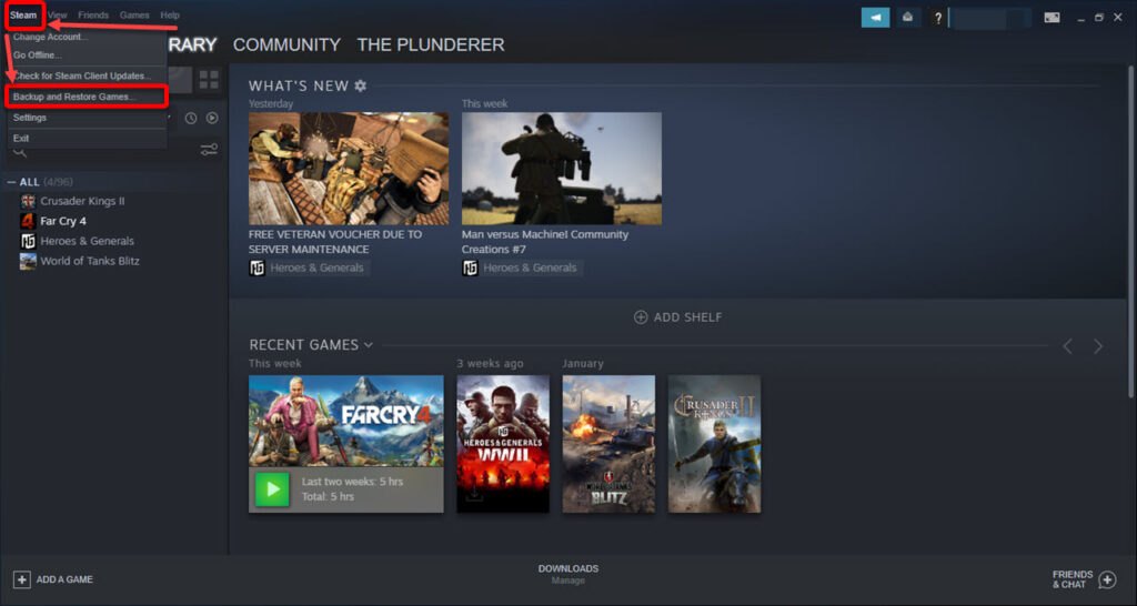 How to backup Steam games? | Candid.Technology