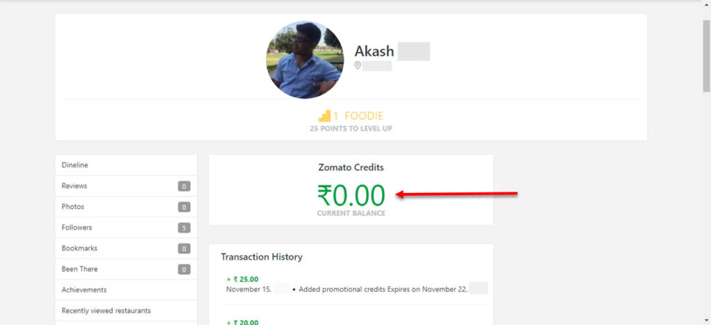 How to earn Zomato credits?   Candid.Technology