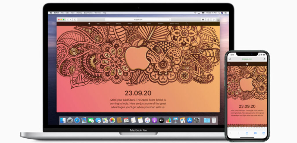Apple's online store is coming to India on September 23