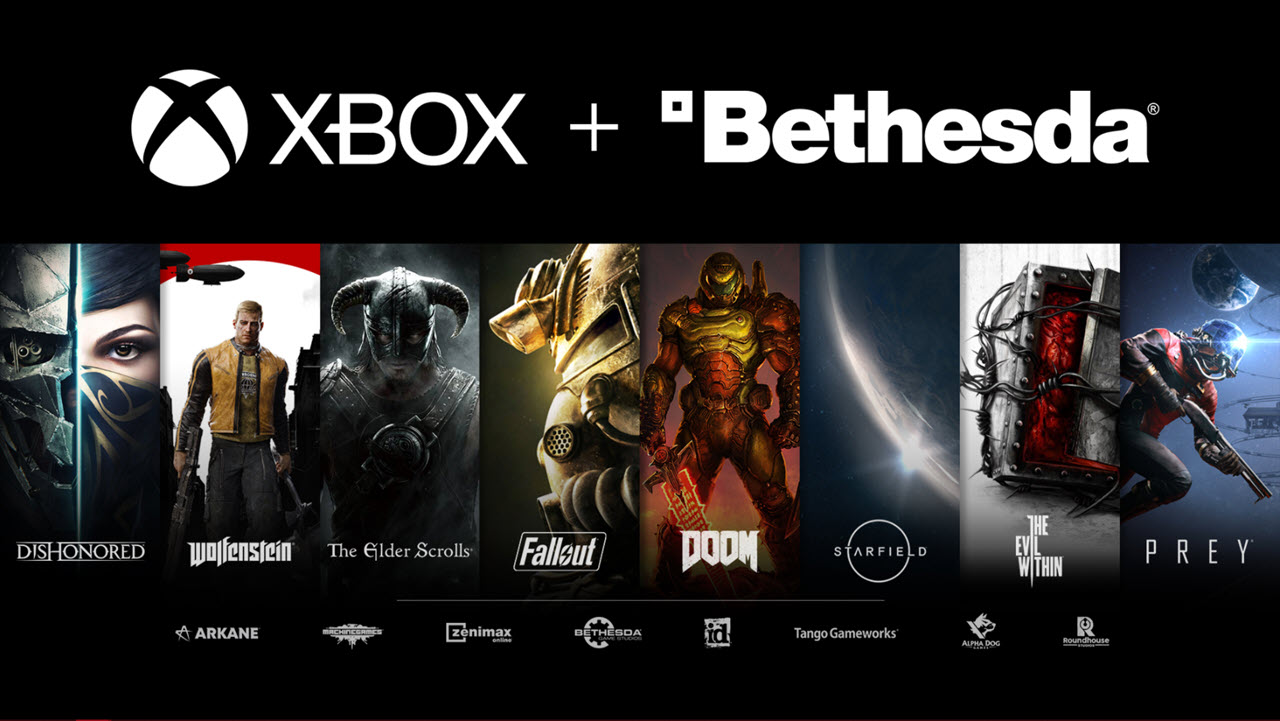 Microsoft brings Bethesda to Xbox after acquiring ZeniMax Media for $7.5 billion