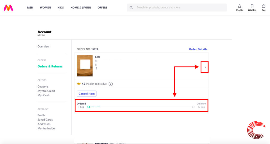 How to track your order on Myntra? | Candid.Technology