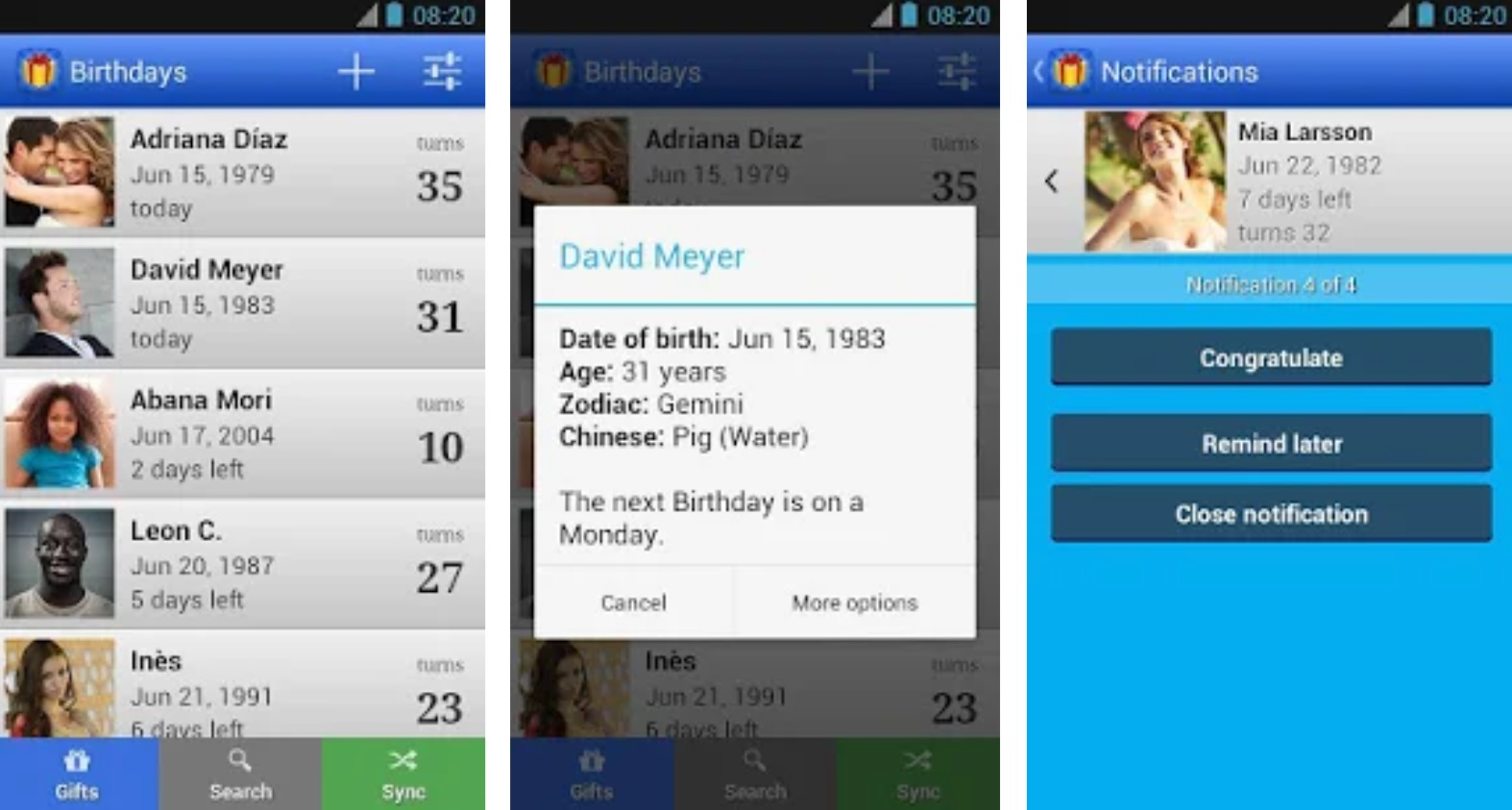 Top 7 birthday reminder apps for Android and iOS | Candid.Technology