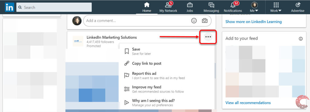 What does 'Promoted' mean on LinkedIn? | Candid.Technology