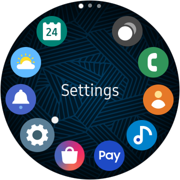 How to enable Always-on-Display in Samsung Galaxy smartwatches?