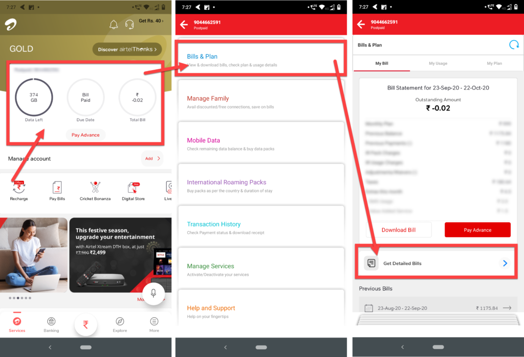 How to check Airtel call history? | Candid.Technology