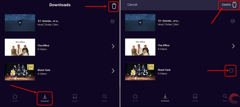 How to download videos on Voot? | Candid.Technology