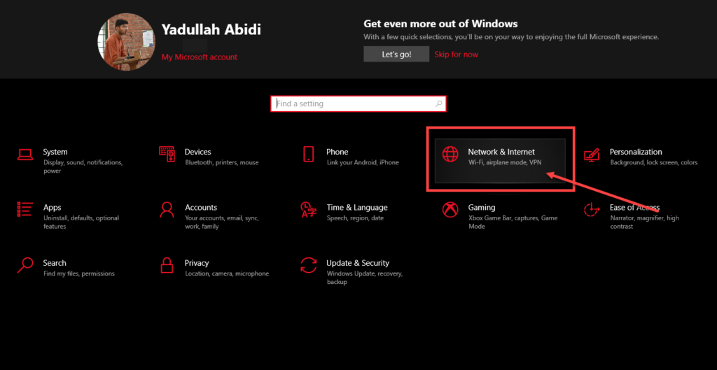 How to turn on Network Discovery on Windows 10?