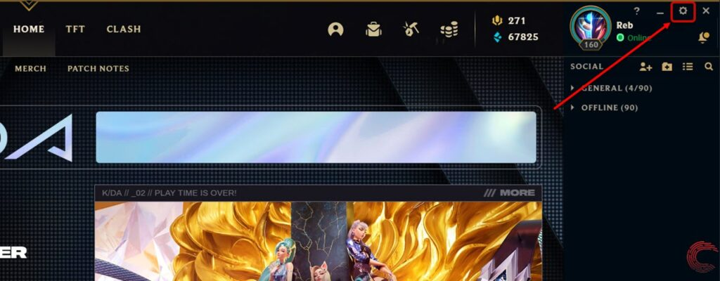 How to unblock someone in League of Legends?