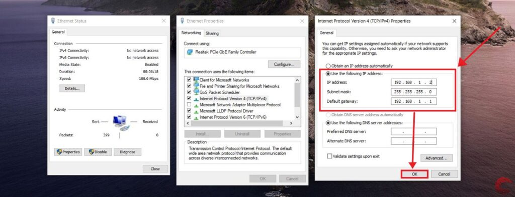 How to share files between two PCs over LAN?