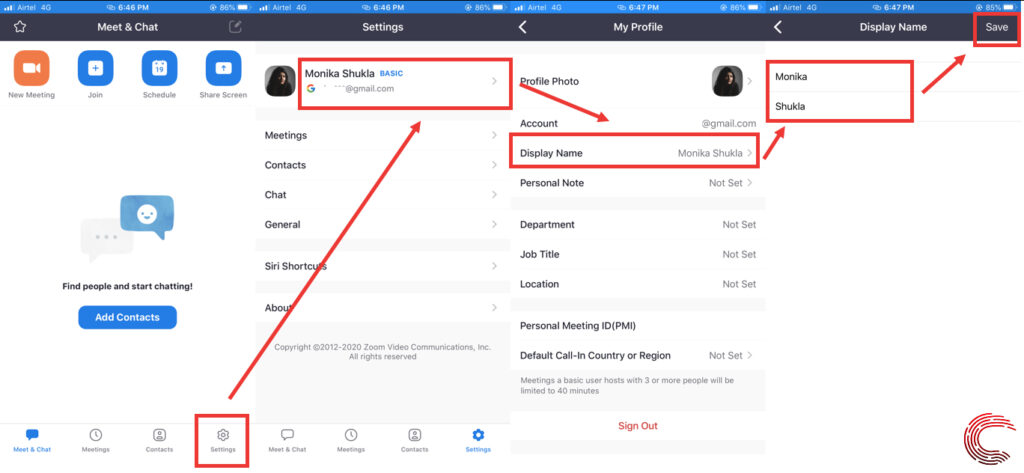 How to change your name on Zoom? | Candid.Technology