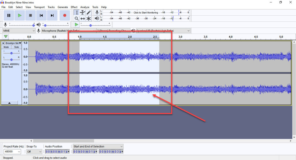 How to loop on Audacity? | Candid.Technology