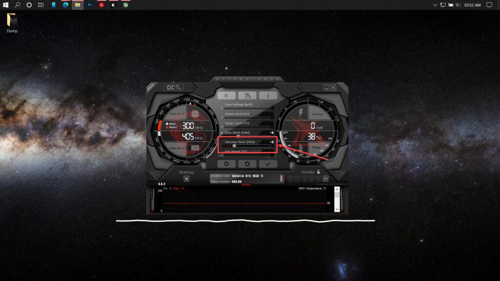 How to use MSI Afterburner to overclock GPU?