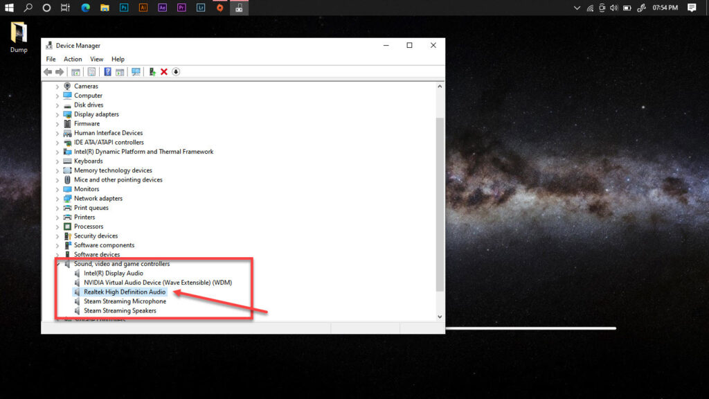 How to fix 'Realtek HD Audio Manager Missing' in Windows 10?