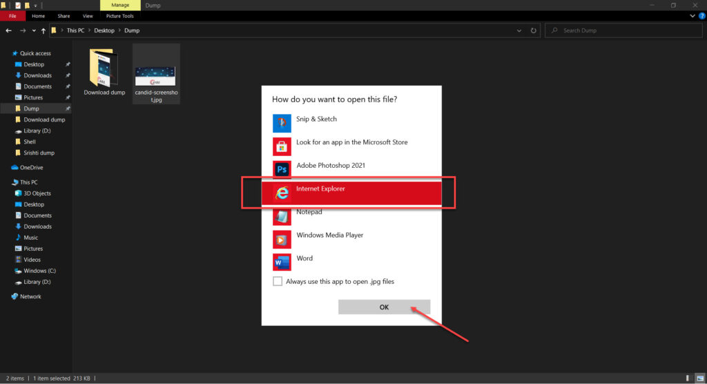 How to save screenshots as PDF in Windows 10?
