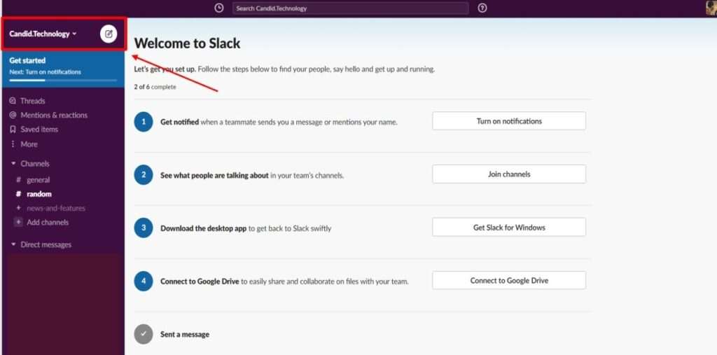 How to sign out of Slack? | Candid.Technology