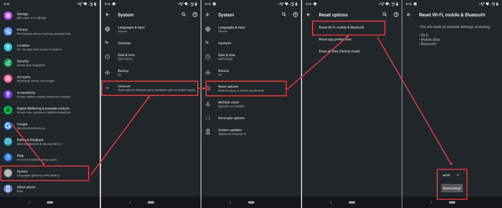 How to fix the 'Android WiFi keeps disconnecting and reconnecting' issue?