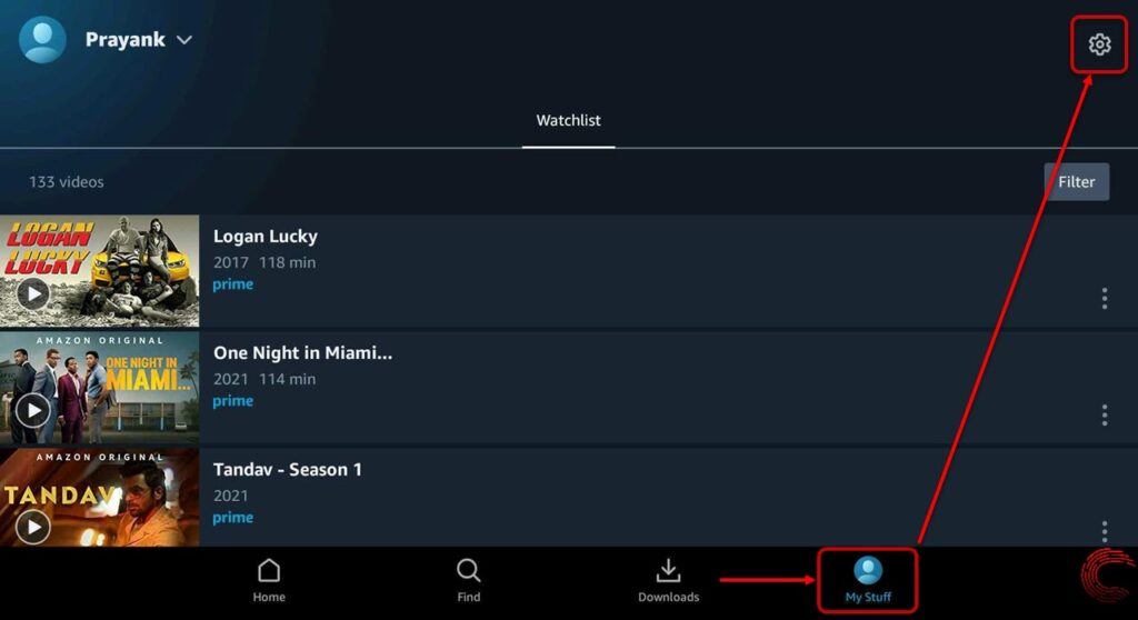 How to change the video quality in Amazon Prime Video?